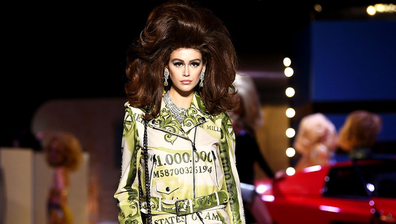 Kaia Gerber Continues to Dominate on the Runway in Milan