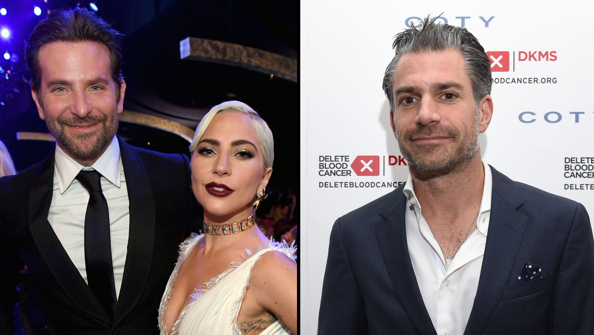 Lady Gaga, Ex Christian Carino Run Into Each Other at Party as She Hangs With Bradley Cooper