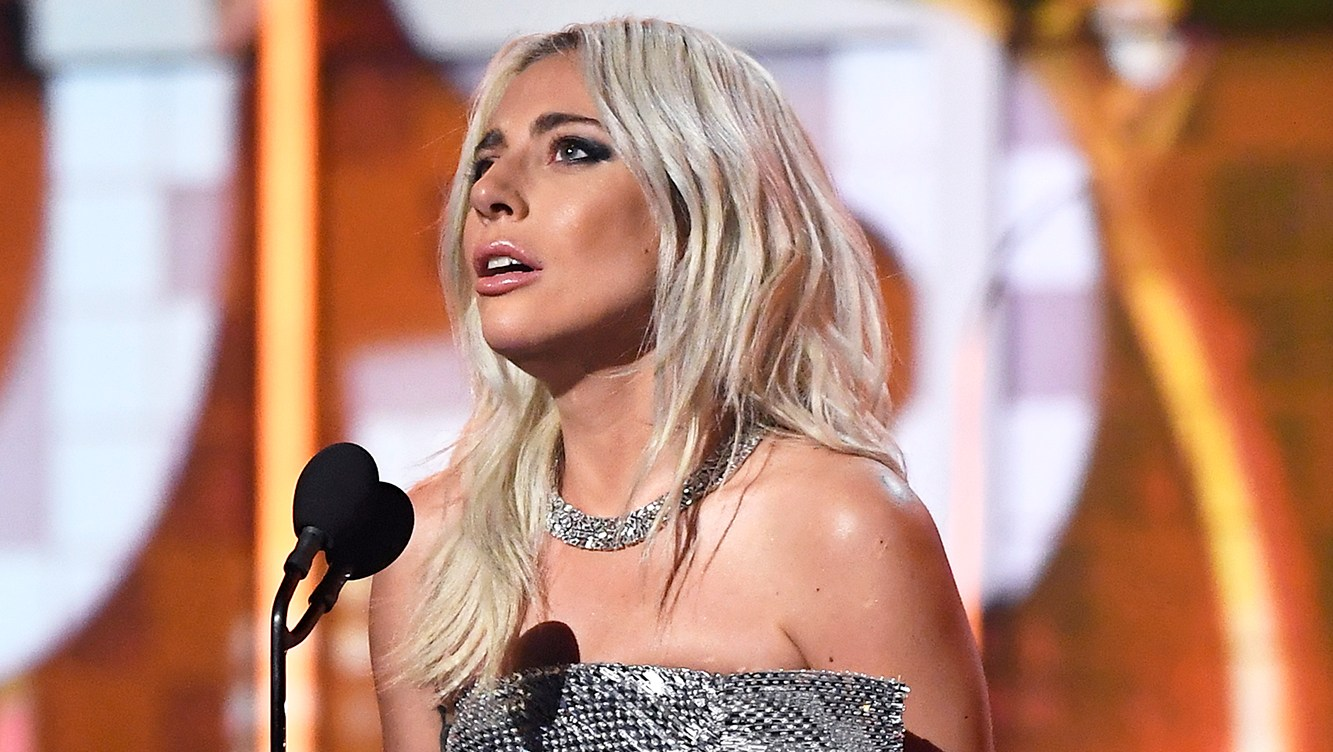 Lady Gaga Talks Mental Health, Thanks God, Bradley Cooper During Grammys 2019 Acceptance Speech