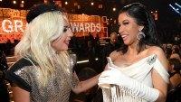 Lady Gaga Defends 'Brave' Cardi B After Grammy Win Backlash: 'You Deserve Your Awards'