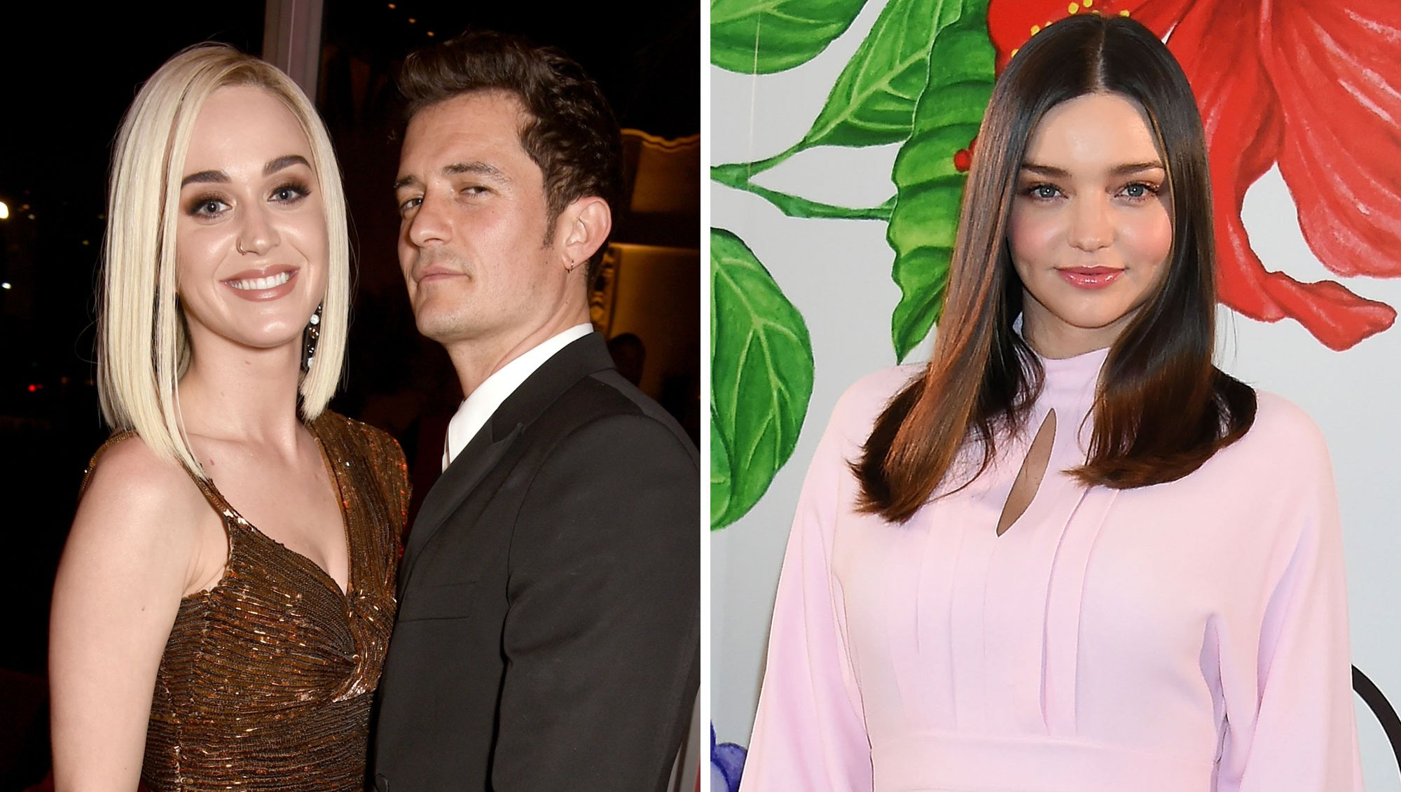 Orlando Bloom Gave Katy Perry and Ex-Wife Miranda Kerr Similar Engagement Rings
