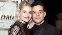 Rami Malek Gushes About Falling in Love With GF Lucy Boynton on Screen