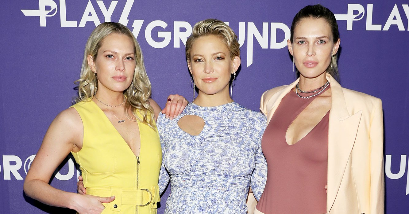 Sara, Erin Foster Praise Kate Hudson's Hands-On Parenting
