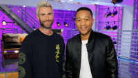 John Legend, Adam Levine, Super Bowl, Pampers