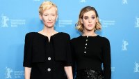 Tilda Swinton and her daughter Honor Swinton-Byrne