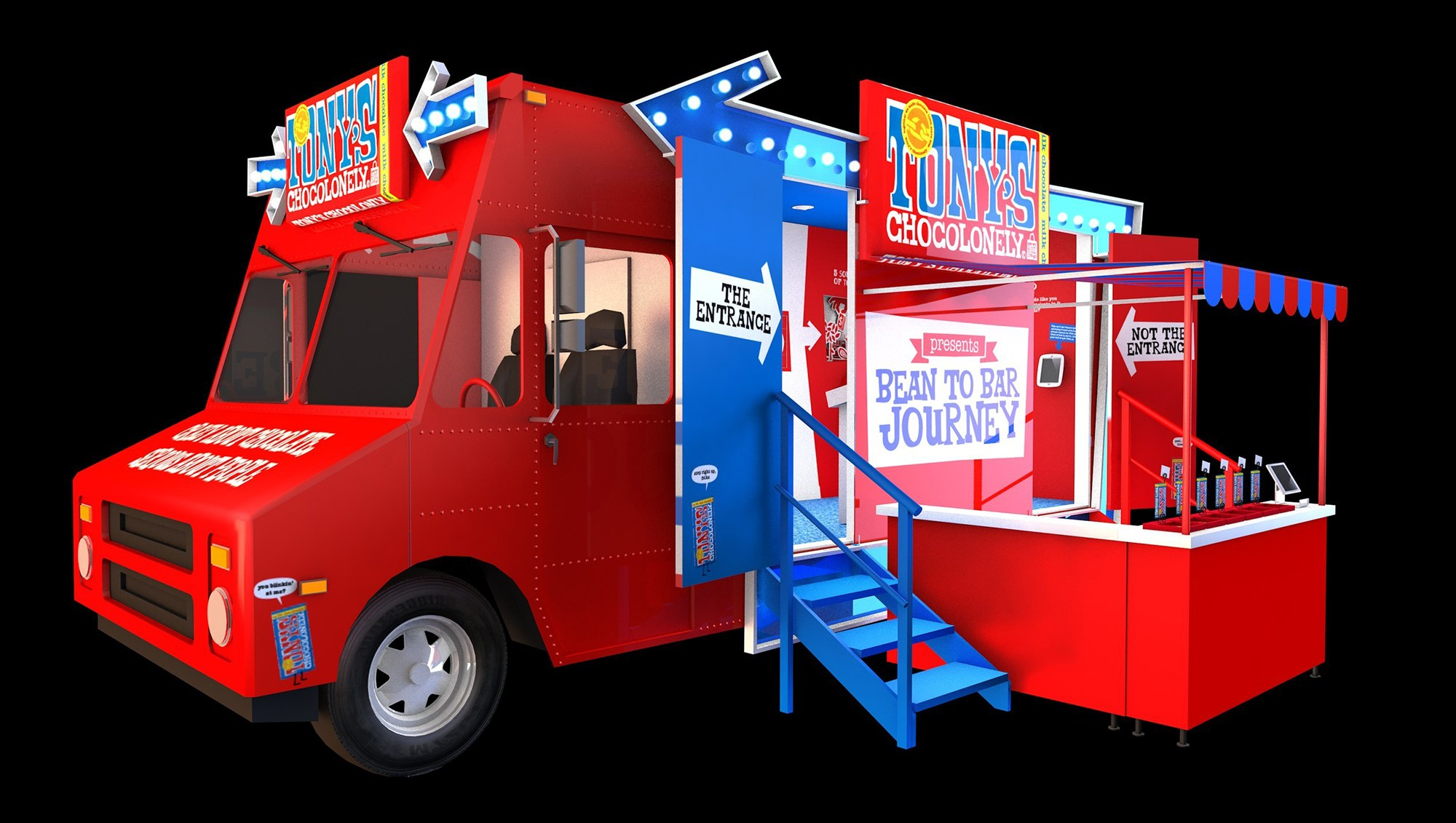 Tony's Chocolonely Chocotruck