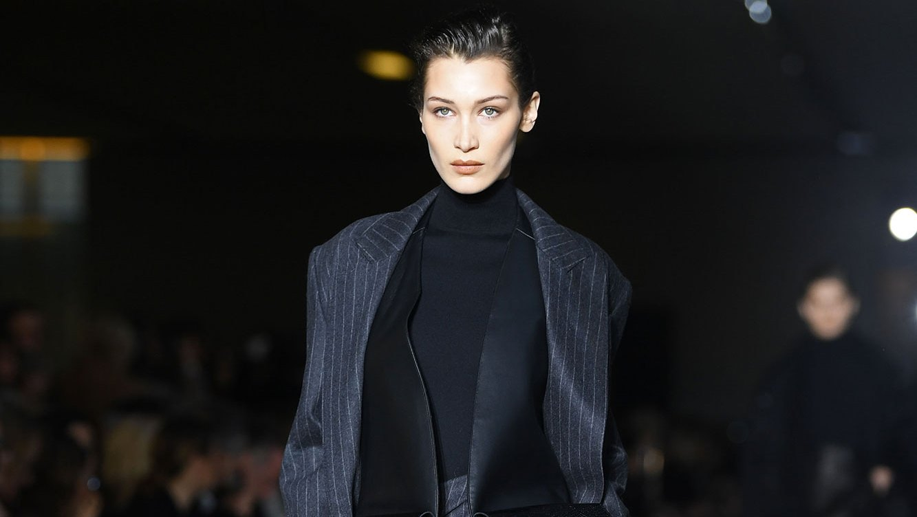 Bella Hadid Continues to Slay on the Runway at Milan Fashion Week