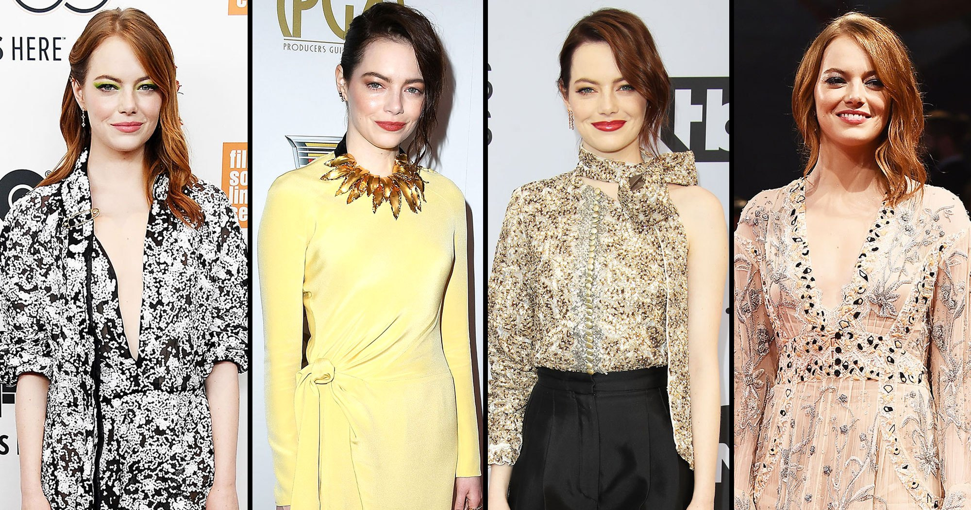 Emma Stone Is a Standout Style Star in Louis Vuitton: See Her 10 Top Red Carpet Looks