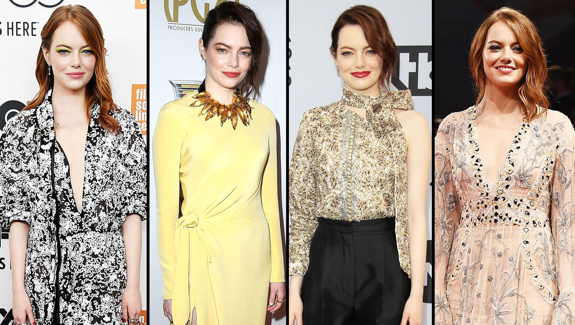red carpet gallery for Stylish Emma Stone