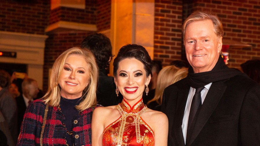 Online VIP Kathy Hilton, Christine Chiu and Rick Hilton