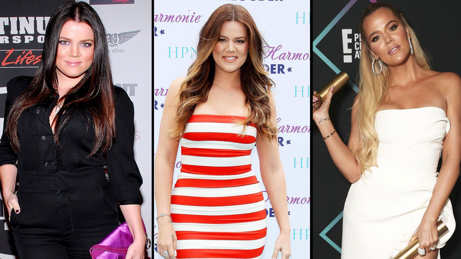 7a24ab1e Khloe Kardashian's Body Evolution Through Pregnancy, Weight Loss and  Relationship Drama