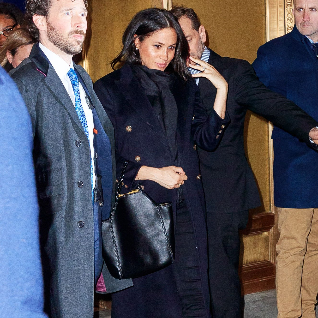 Duchess Meghan's Latest Outfit Has Her Looking Like a NYC Native meghan markle