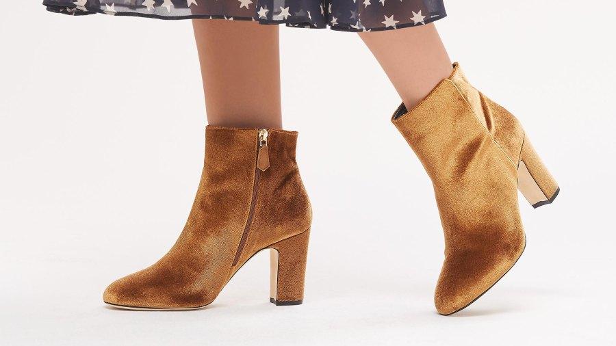 suede-booties