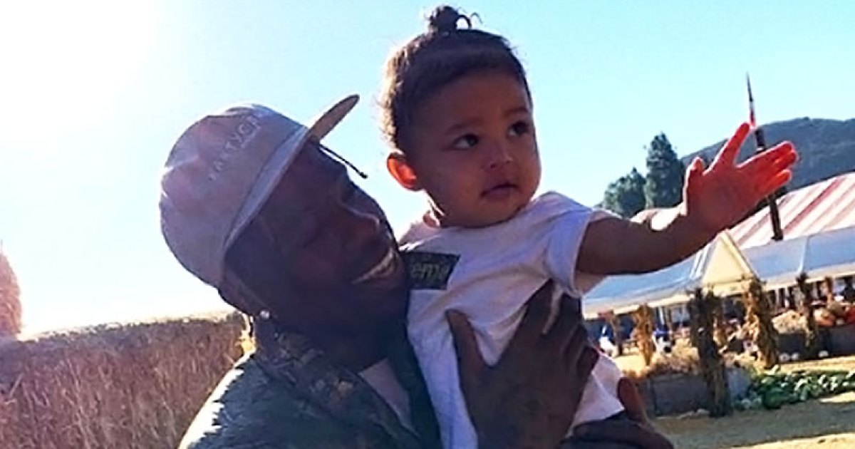Travis Scott Spoils Stormi Is A Very Hands On Dad