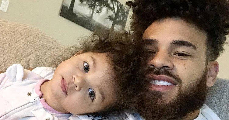 Cory Wharton, Ryder in Father-Daughter Pic After Hospital Visit