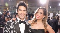 Darren Criss and New Wife Mia Share a Kiss at Tom Tom