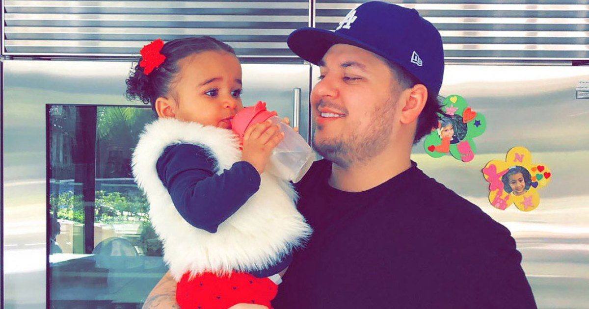 Dream Kardashian Celebrates Dad Rob's Birthday: Pics