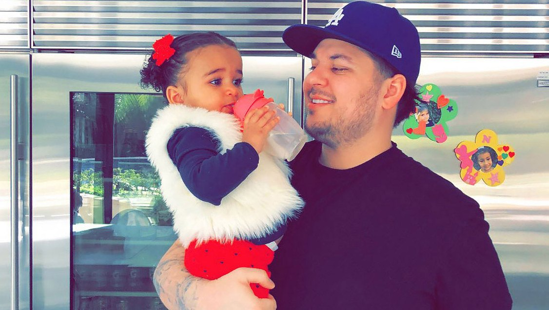 Dream Kardashian Celebrates Dad Rob's Birthday