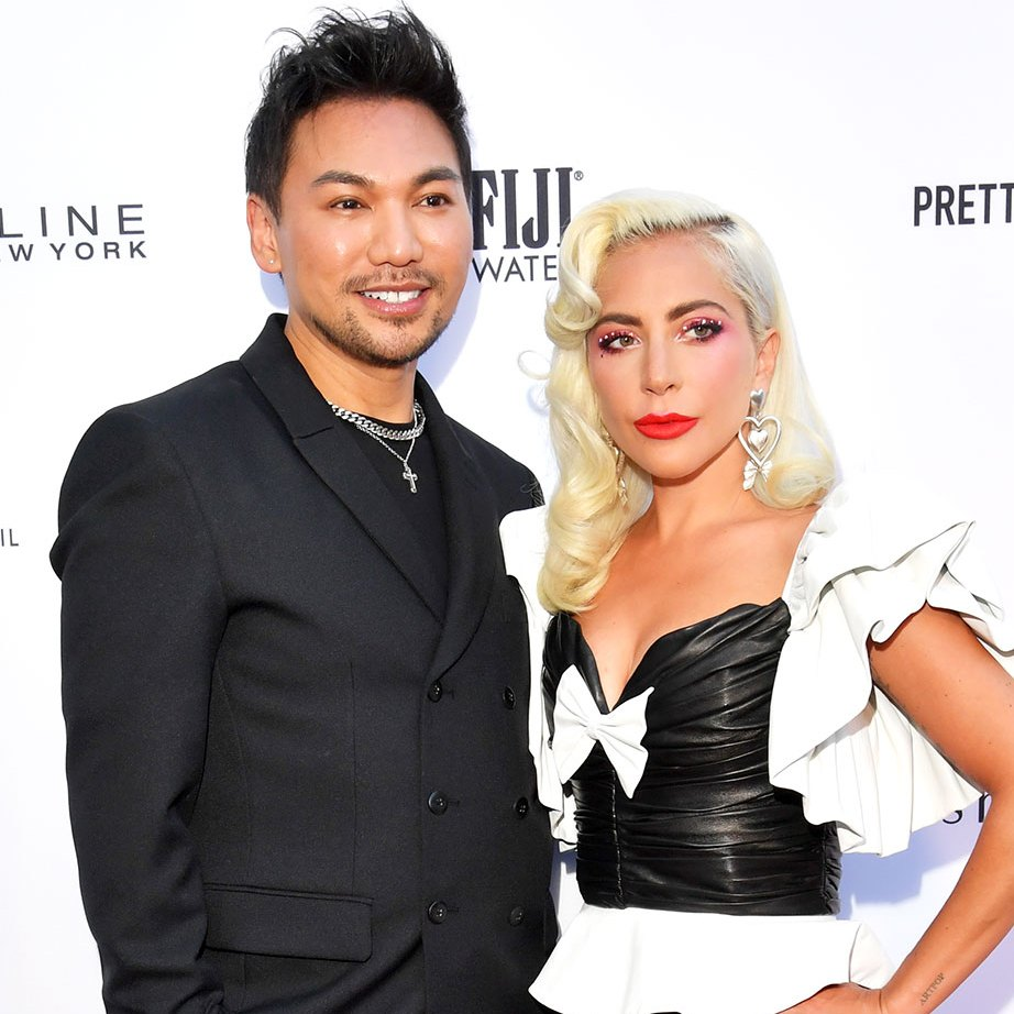 Lady Gaga Reveals Her Hair and Wig Secrets While Honoring Her Hairstylist at the Daily Front Row Fashion Awards