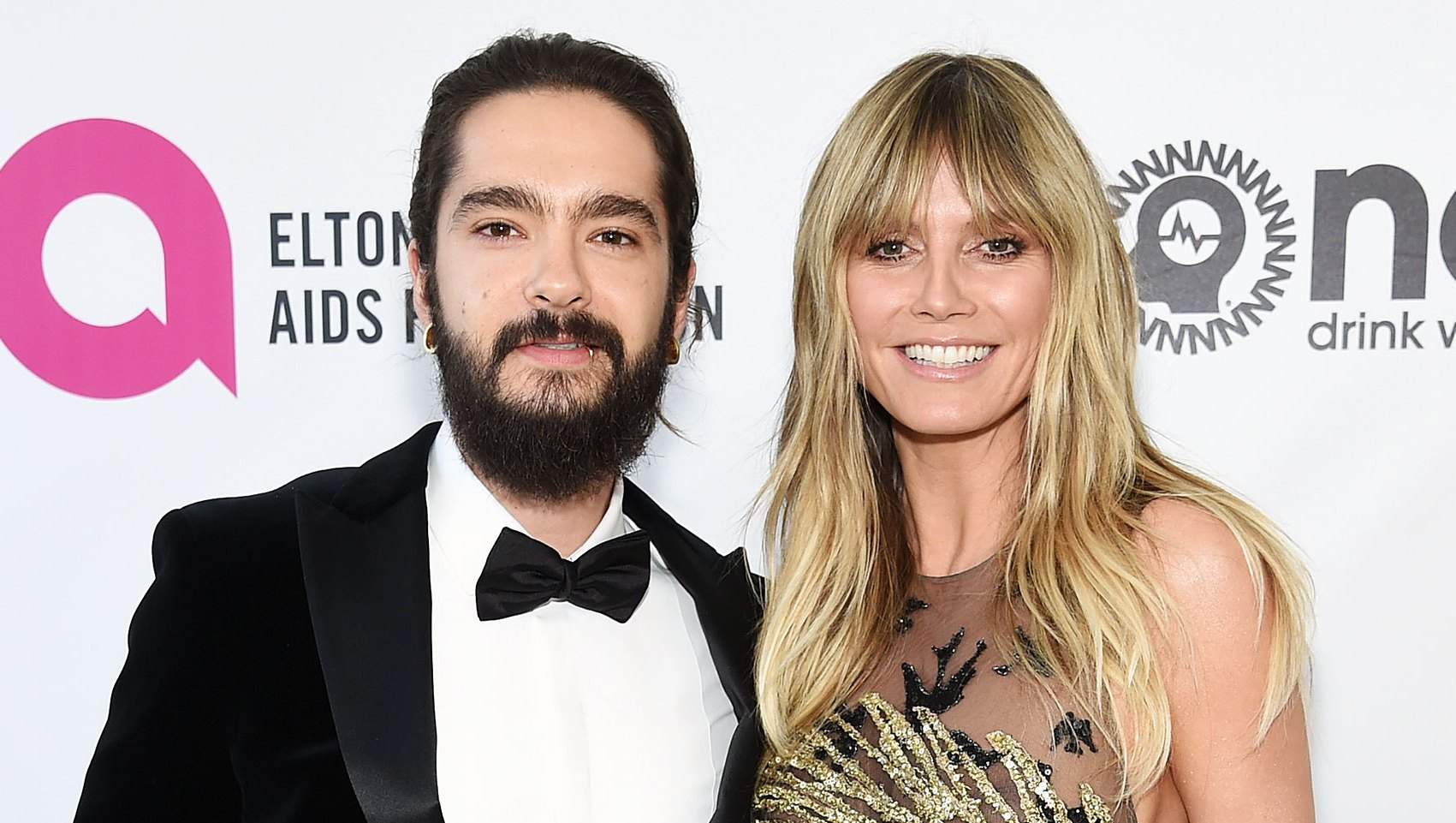 Heidi Klum Ditches Her Top in Hong Kong, Poses for Pictures With Fiance Tom Kaulitz