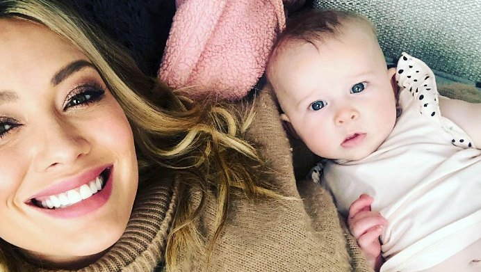 Hilary Duff's Newborn Daughter Reaches Out for a Hug Moments After Birth in Emotional Throwback Video