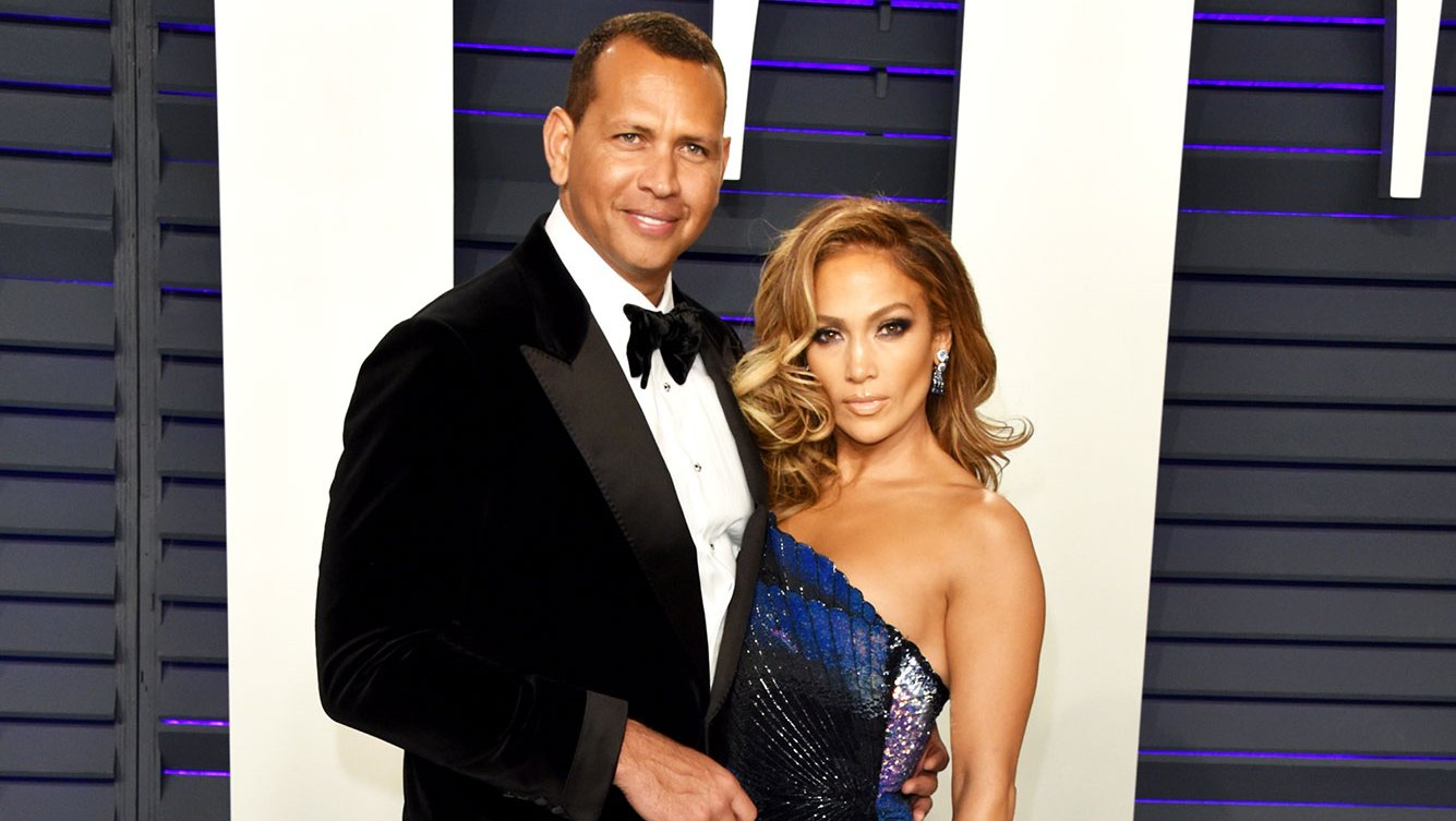 Alex Rodriguez (L) and Jennifer Lopez J. Lo and A-Rod's Best Red Carpet Moments on the Road to Engagement