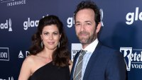 Luke Perry's Fiancée Stepped Out Still Wearing Her Engagement Ring