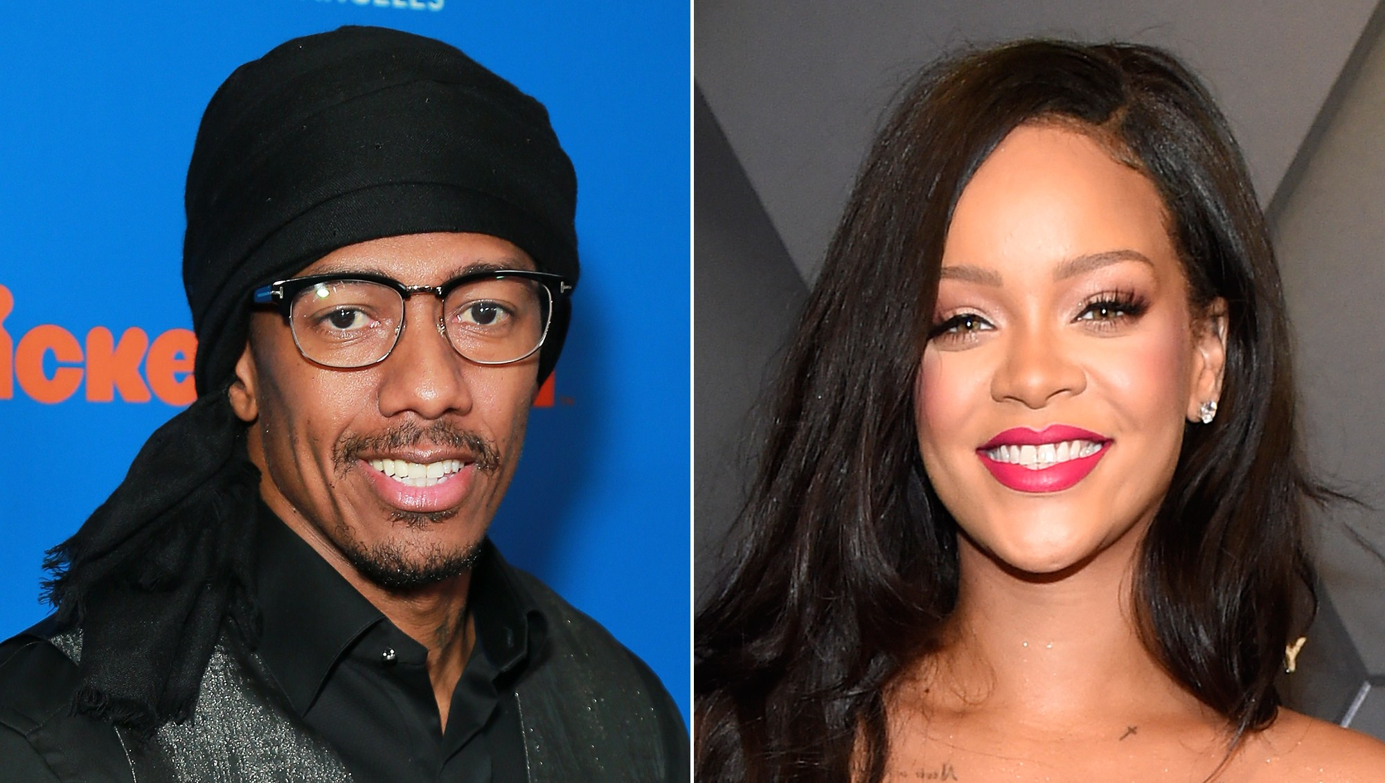 Nick Cannon Tells Queen Rihanna He Wants to Be Her Dress