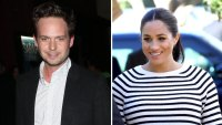 Patrick J. Adams Jokes About Playdates With Duchess Meghan's Unborn Baby
