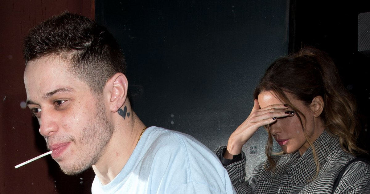 Kate Beckinsale and Pete Davidson: The Way They Were