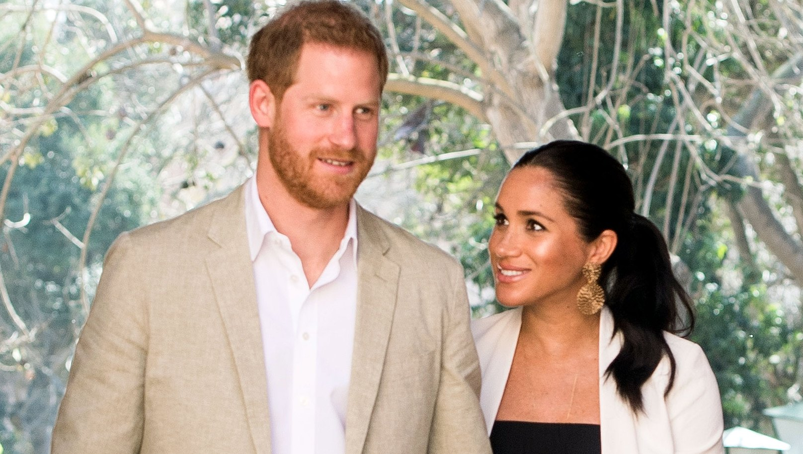 Prince Harry Pregnant Duchess Meghan Attend TINA the Musical for Rare Date Night