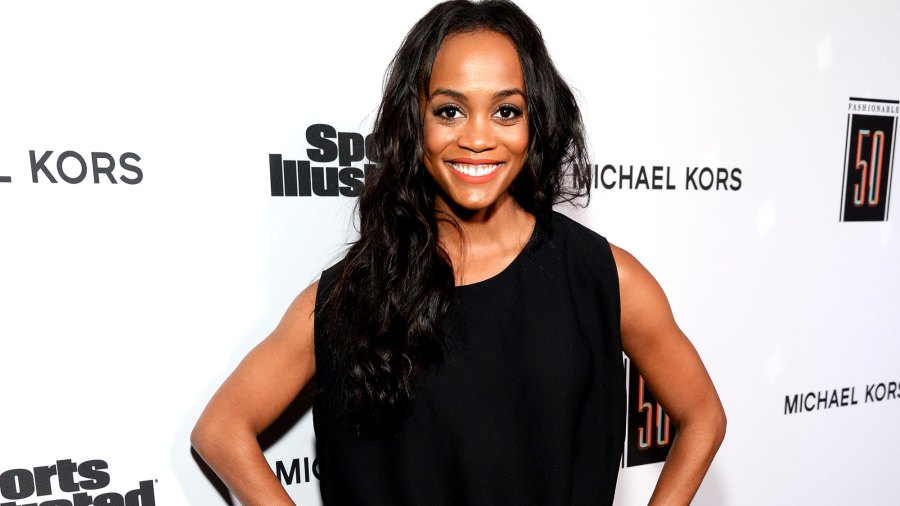 The Bachelorette's Rachel Lindsay Changed Her Mind About a Suit and Is Wearing a Wedding Dress