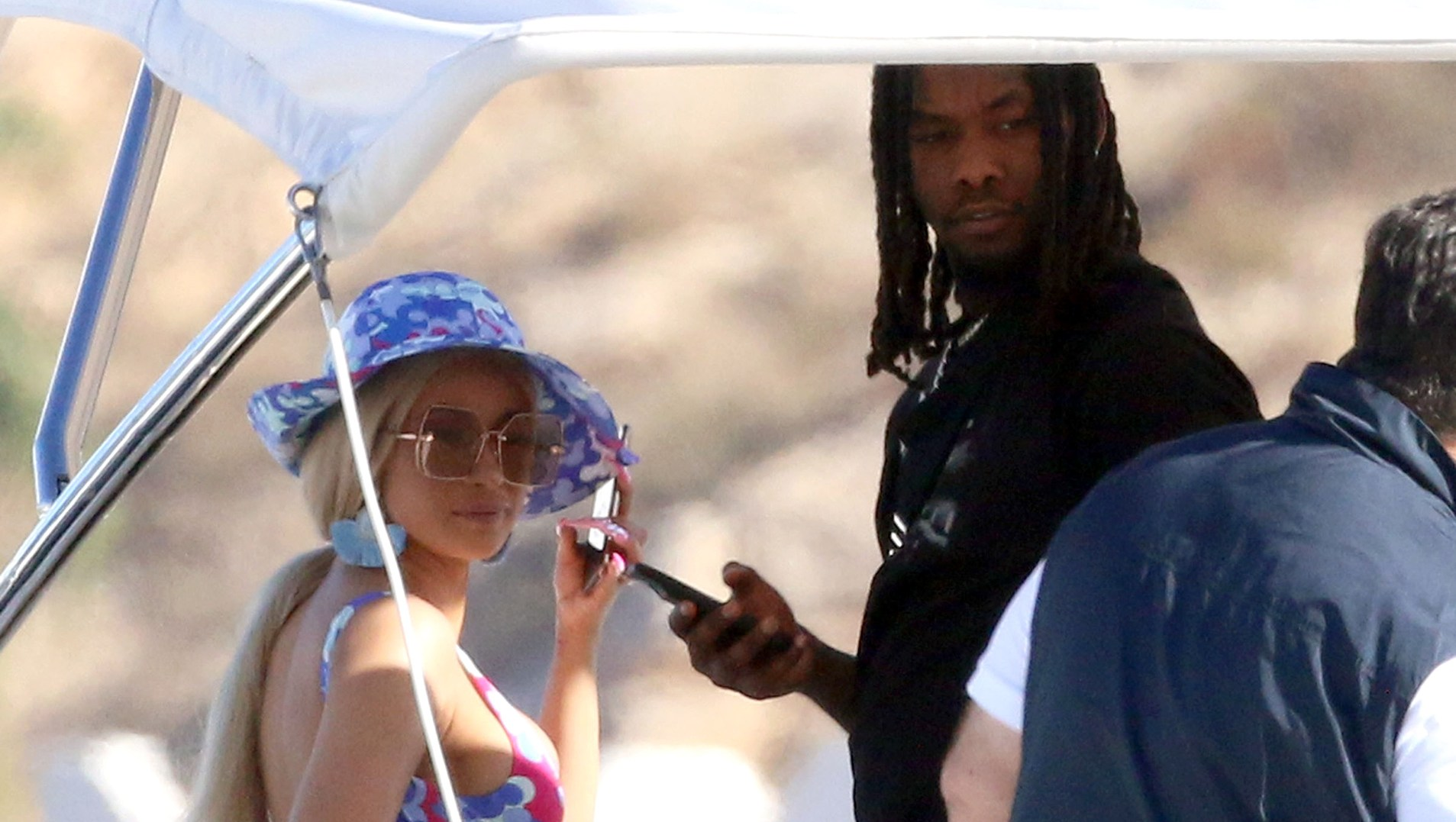 Cardi B and Offset Were 'All Over Each Other' During Cabo San Lucas Getaway