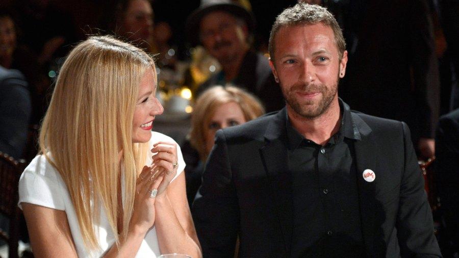 gwyneth paltrow wishes ex Chris Martin a happy birthday