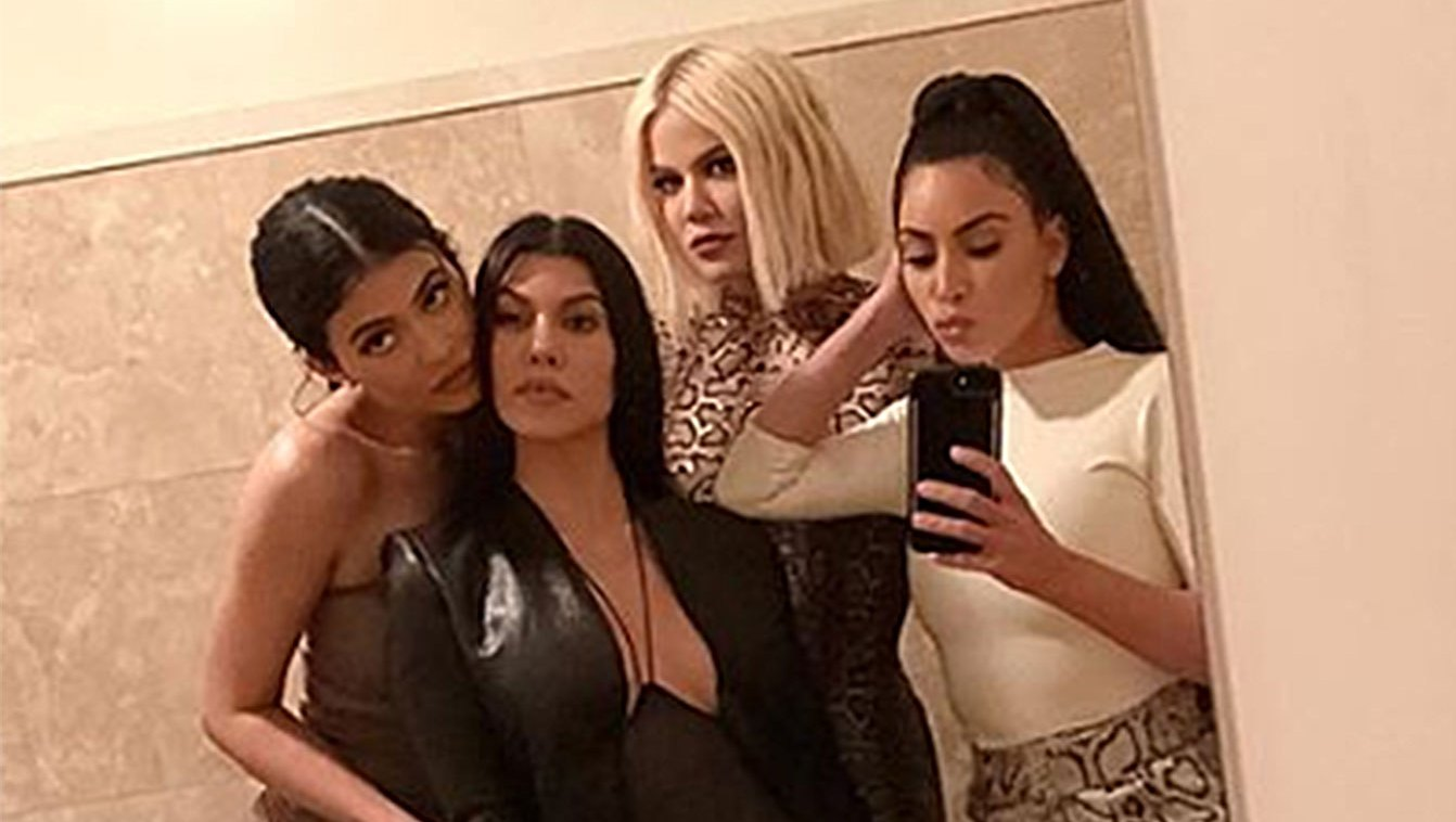 Khloe Kardashian Joins Kim, Kourtney and Kylie Jenner for 'Double Date Night' Amid Drama