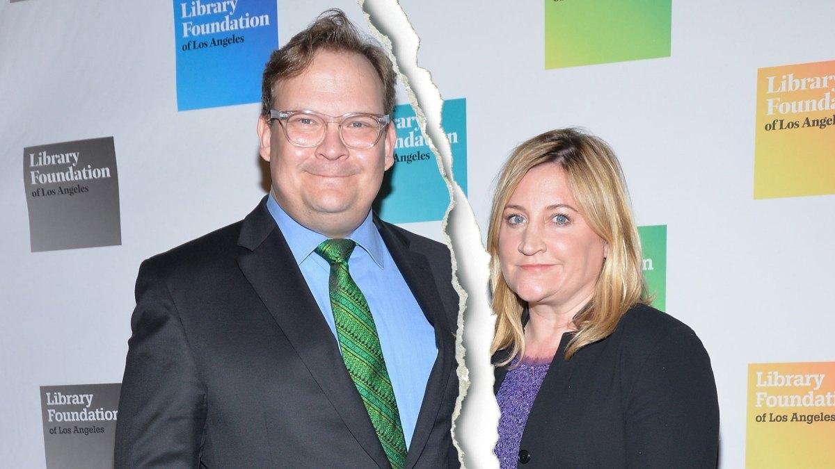 Andy Richter Nude andy richter, wife sarah thyre 'have begun divorce proceedings'