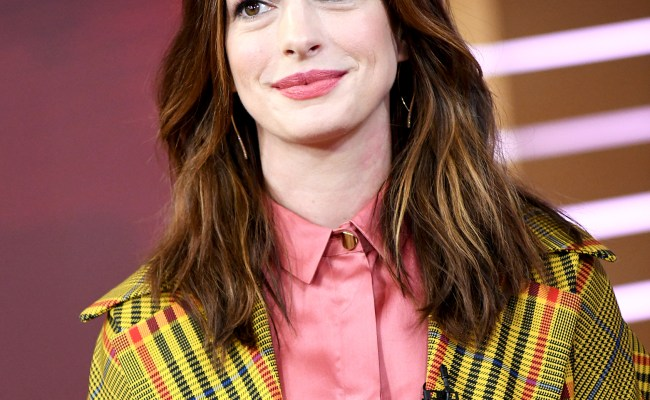 Anne Hathaway Ditched Veganism Thanks To This Costar