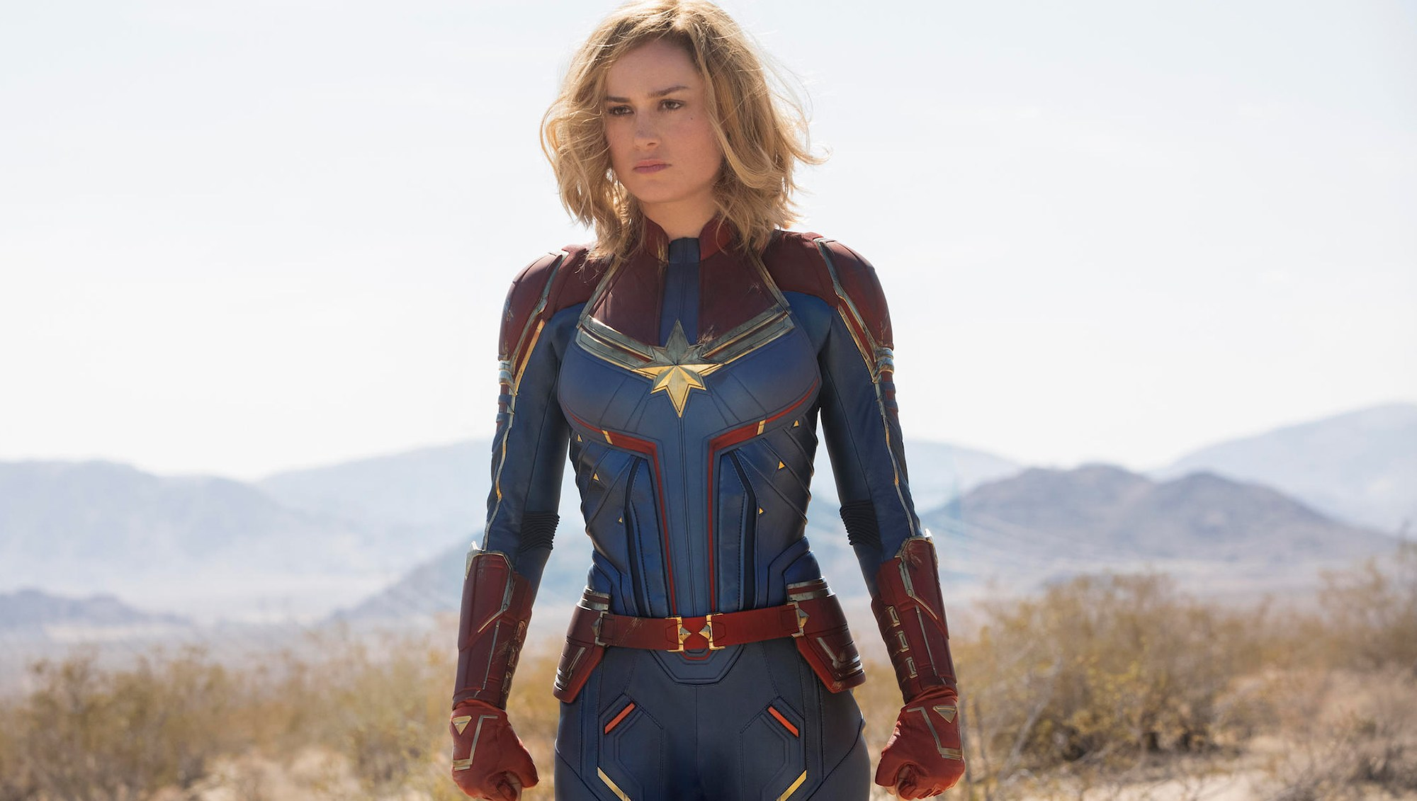 stars as superheroes Brie Larson