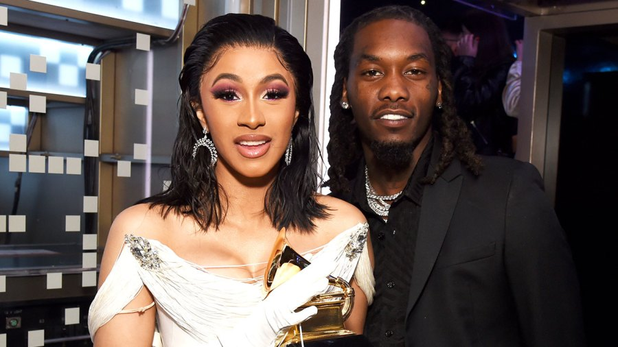 cardi b offset kulture daughter easter