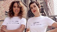 Celeb Stylist Karla Welch and Instagram Poet Cleo Wade Teamed With Express Empowering T-Shirt Line