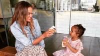 Chrissy Teigen's Daughter Luna Is Freaking