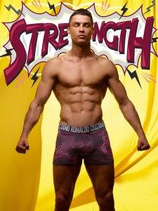 Cristiano Ronaldo Stars in SS19 CR7 Underwear Campaign Pics