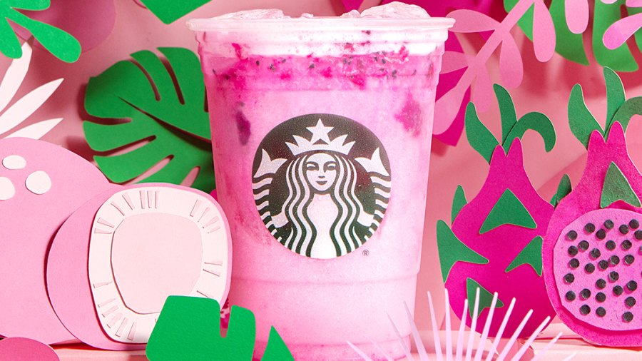 Starbucks Brings Back Fan-Favorite Frappuccinos Debuts New Pink Dragon Drink