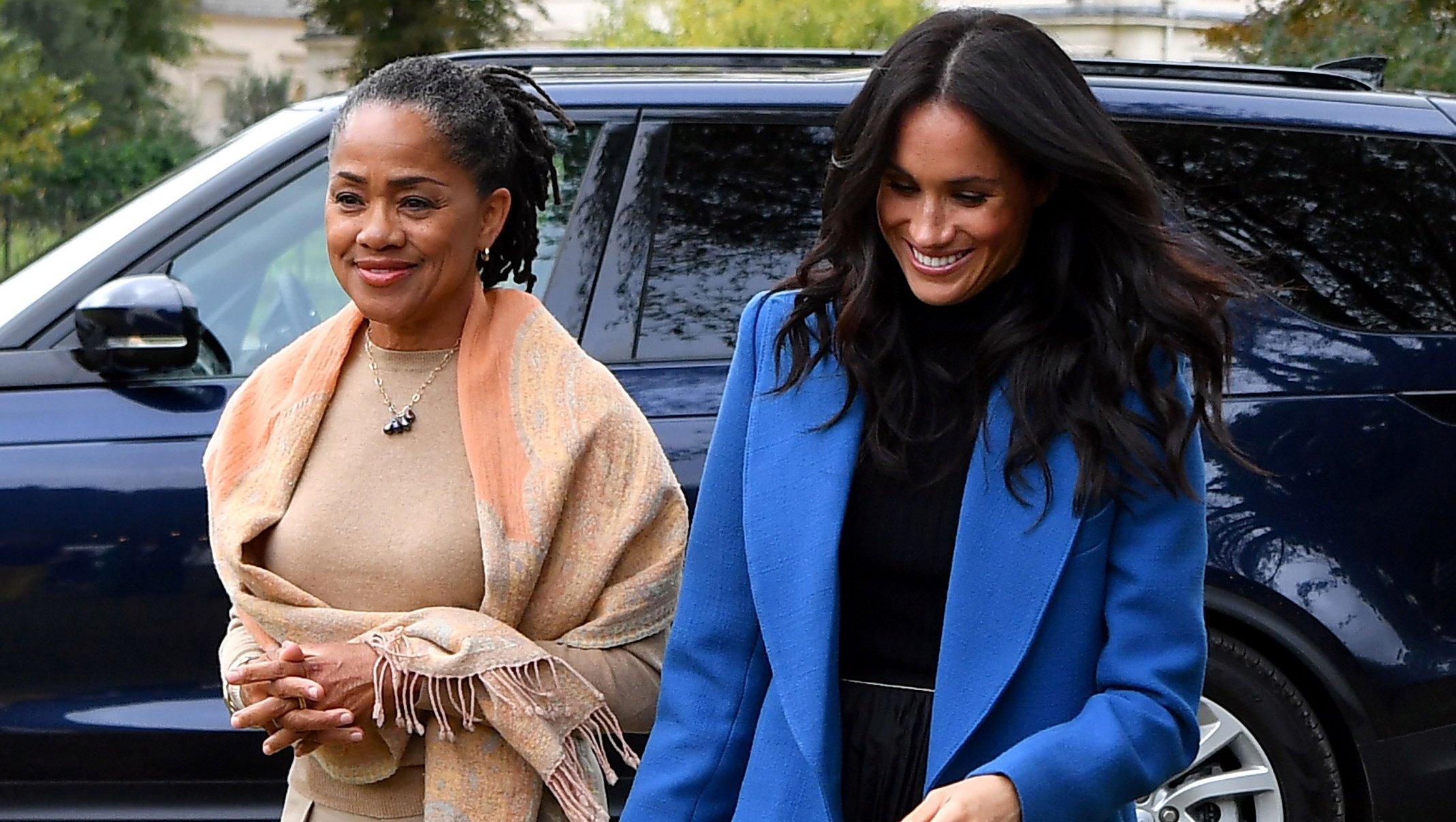 Duchess Meghan's Mom Doria Ragland Is in London Awaiting the Birth of Royal Baby Sussex