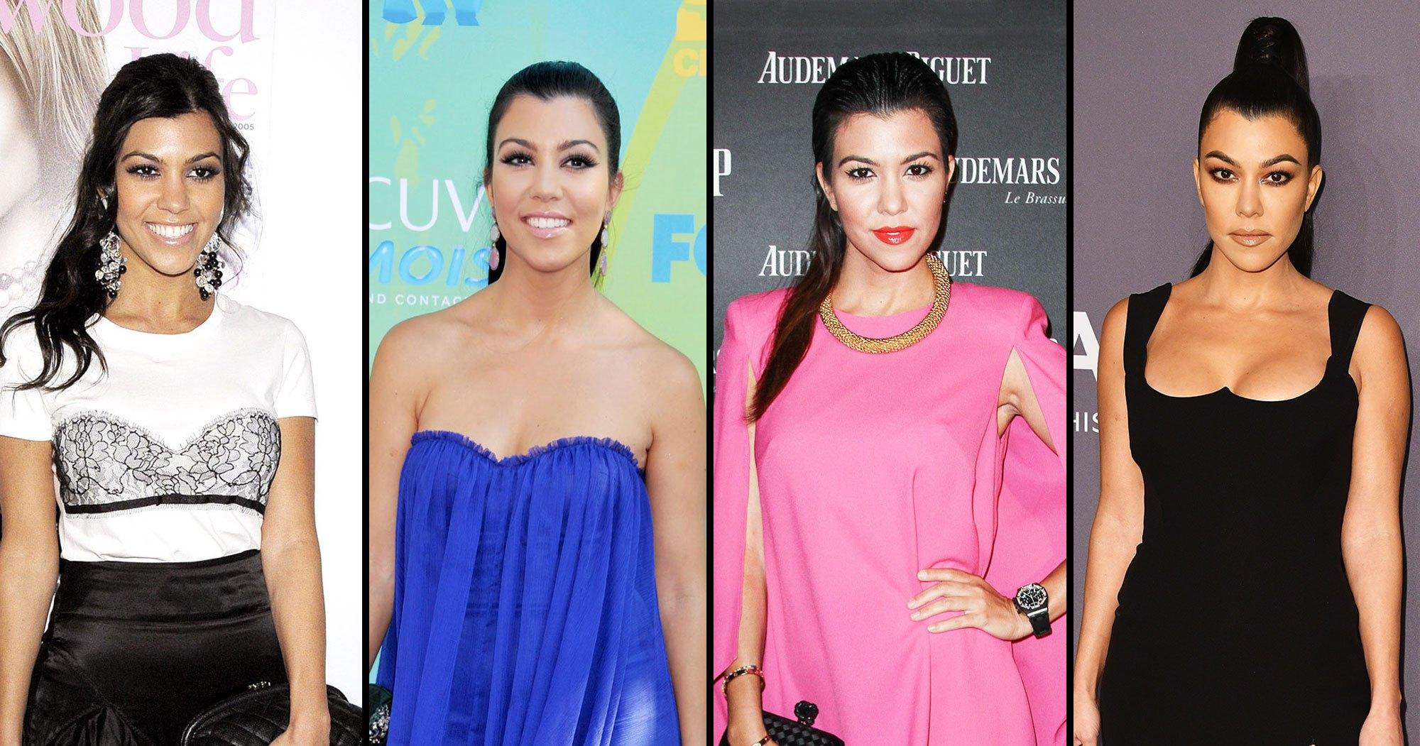 Birthday Girl Kourtney Kardashian's Sexy Style Evolution