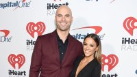 Jana Kramer and Mike Caussin Show Off Muscles in Matching Bathing Suits