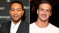 John Legend Gets 'Backyard' Swimming Lessons From Ryan Lochte