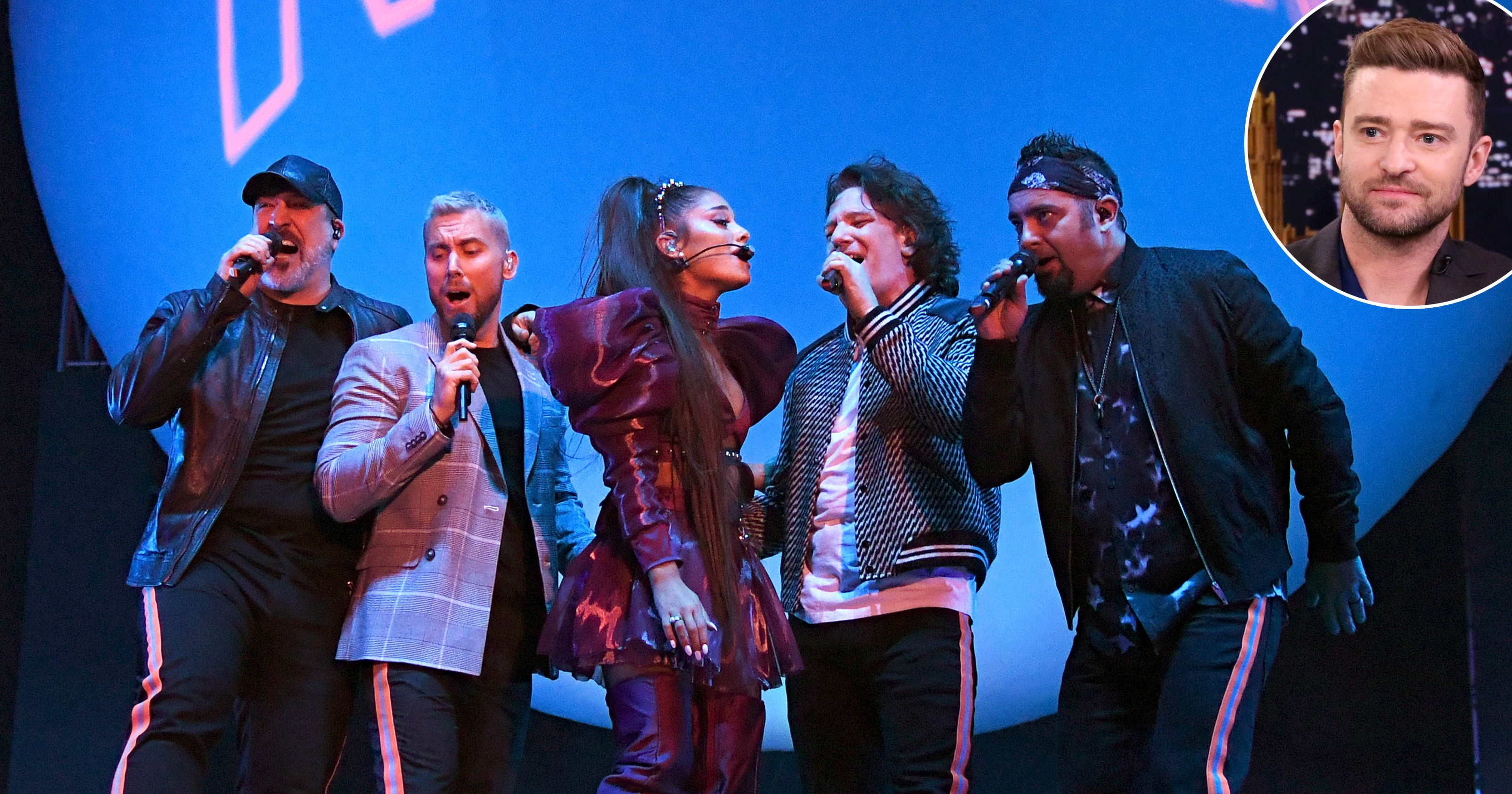Joey Fatone: Why Justin Didn't Perform With Ariana, 'NSync at Coachella