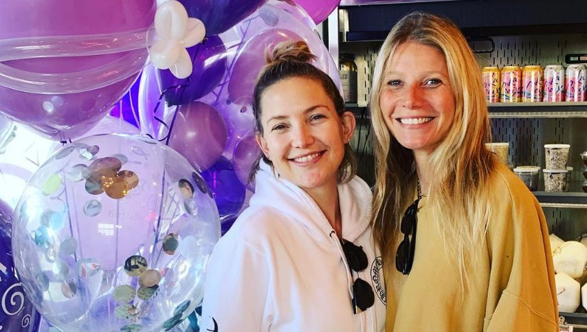 Kate Hudson's surprise birthday party