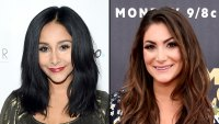 Nicole 'Snooki' Shows Off Baby Bump While Deena Nicole Cortese Reveals Post-Baby Weight Loss